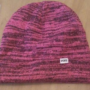 PINK beanie hat